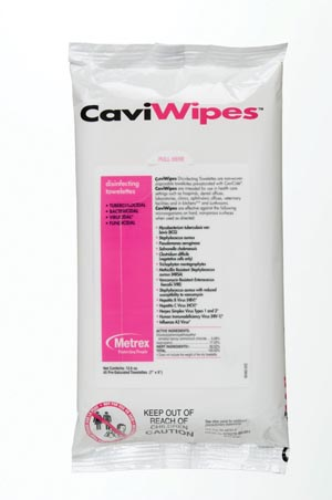 CaviWipes Flat Pack, 45/pk, 20 pk/cs
